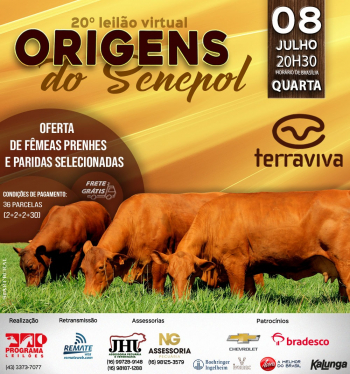 20° Virtual Origens do Senepol