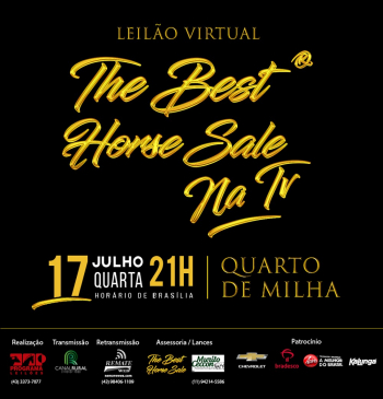Leilão Virtual The Best Horse Sale na TV