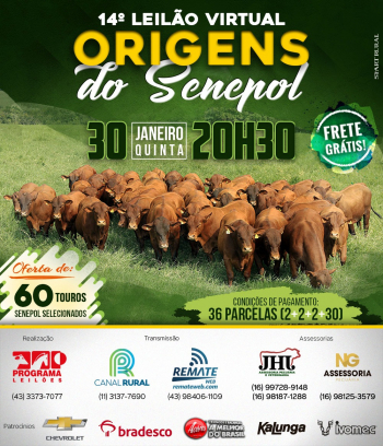 14° Virtual Origens do Senepol
